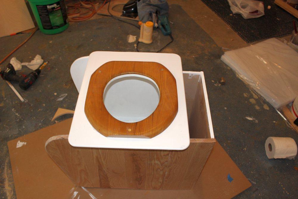 Our Promaster Camper Van Conversion Composting Toilet