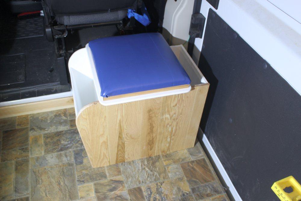 Our ProMaster Camper Van Conversion - Composting Toilet - Build A ...
