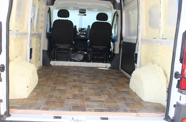 Dodge Promaster Camper >> Our ProMaster Camper Van Conversion - Flooring - Build A Green RV