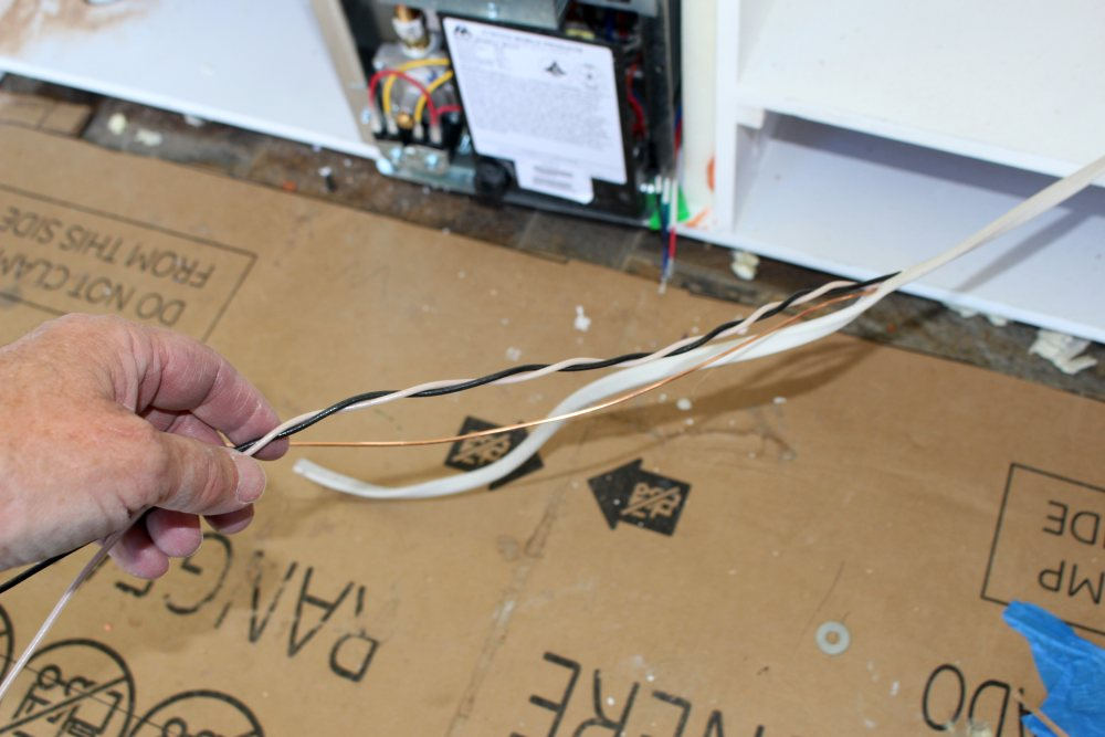 wiring for RV fridge
