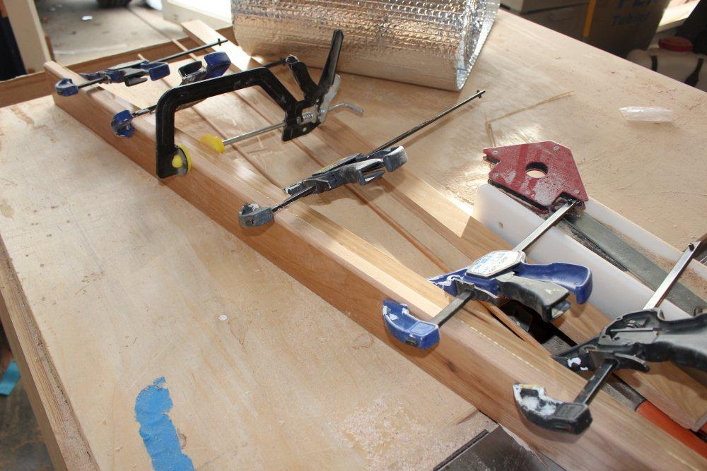 Building RV galley counter top