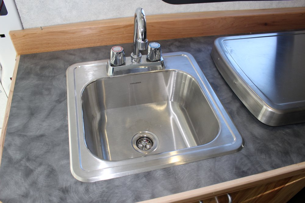 Sink for the RV galley