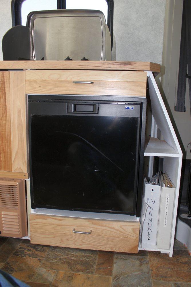 our rv fridge install
