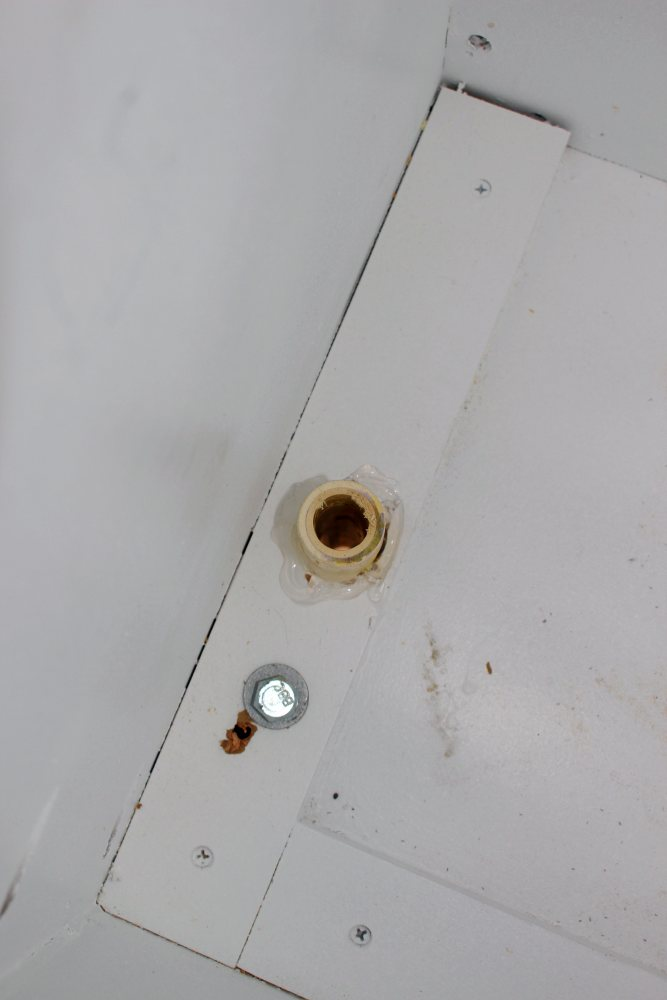 venting the propane tank cabinet to the outside.