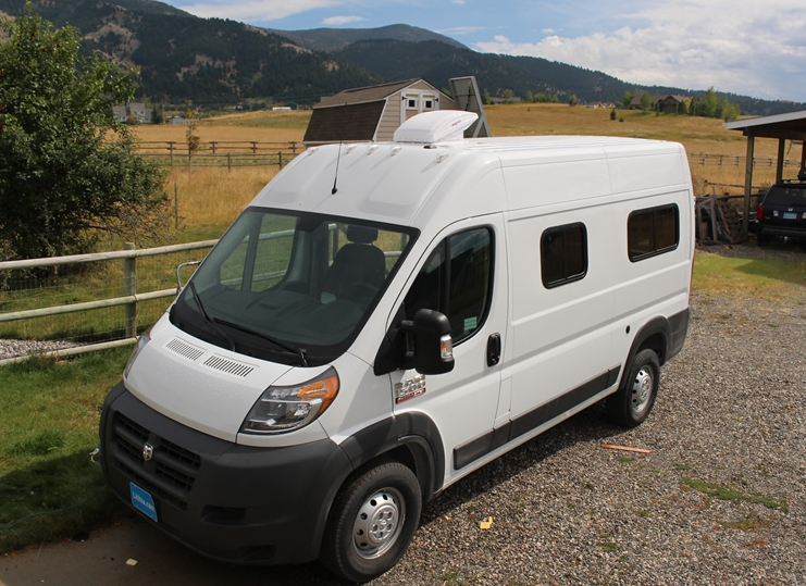 Our ProMaster van to RV conversion