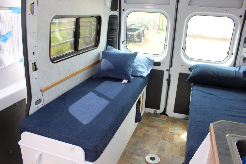 Installing Beds Build A Green Rv