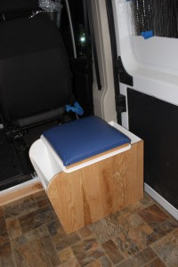 Installing Toilet Build A Green Rv