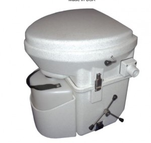 Natures Head commercial composting toilet