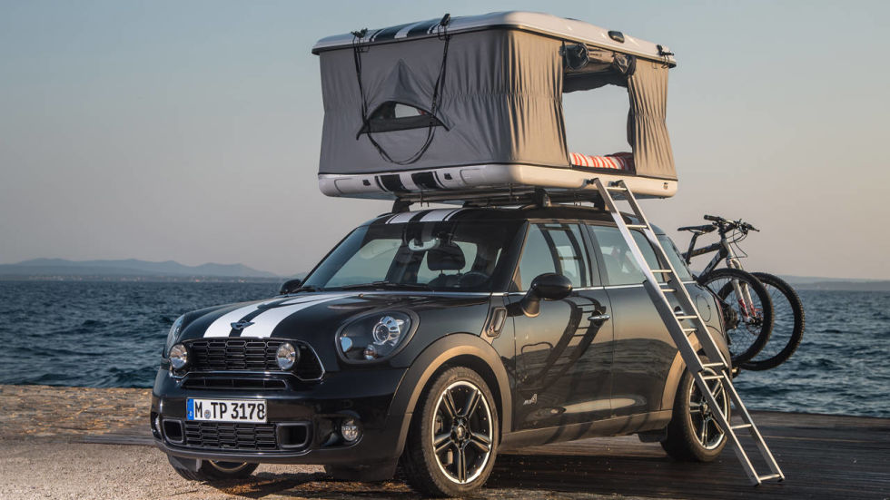 Car Top Tents & Popup Car Top and Attached Camping Tents - Build A Green RV