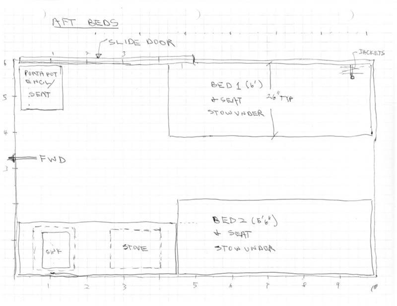Our Promaster Camper Van Conversion Interior Layout