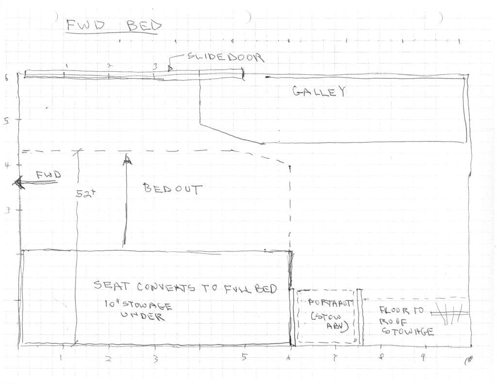 Our ProMaster Camper Van Conversion – Interior Layout
