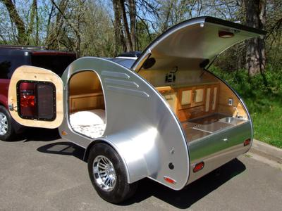 Diy Teardrop And Compact Trailers Build A Green Rv