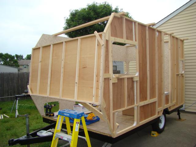 very attractive trailer build kits. COTDTrailerBuild  Detailed Trailer Build DIY Teardrop and Compact Trailers A Green RV