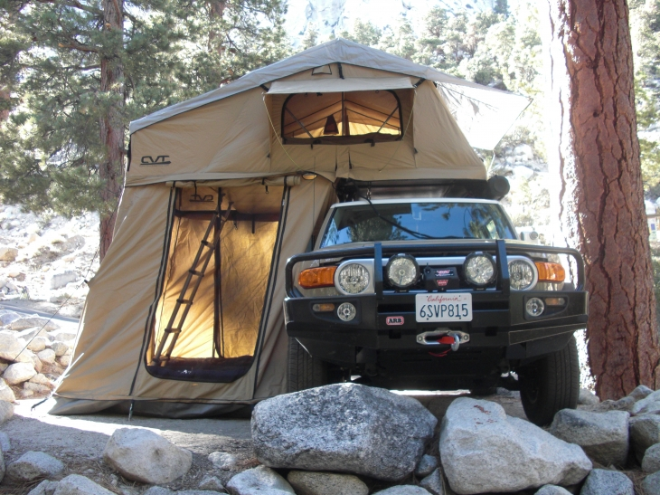 Popup Car Top And Attached Camping Tents Build A Green Rv