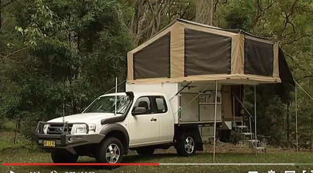 Used Car Top Tents : Popup car top and attached camping tents build a green rv