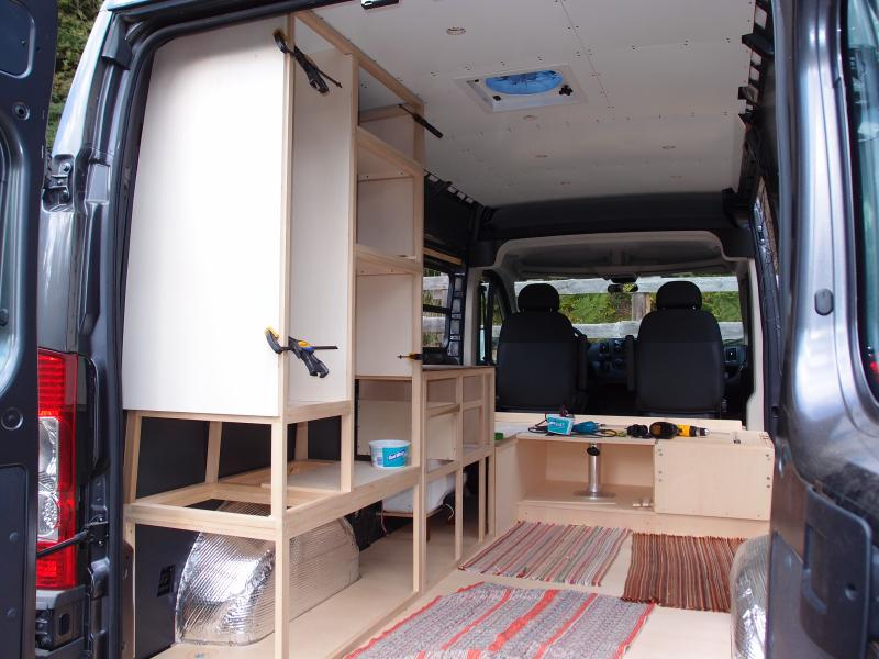 Combine A Used 12K Van With This 3K Conversion And You Are On The Road In Style For 15K