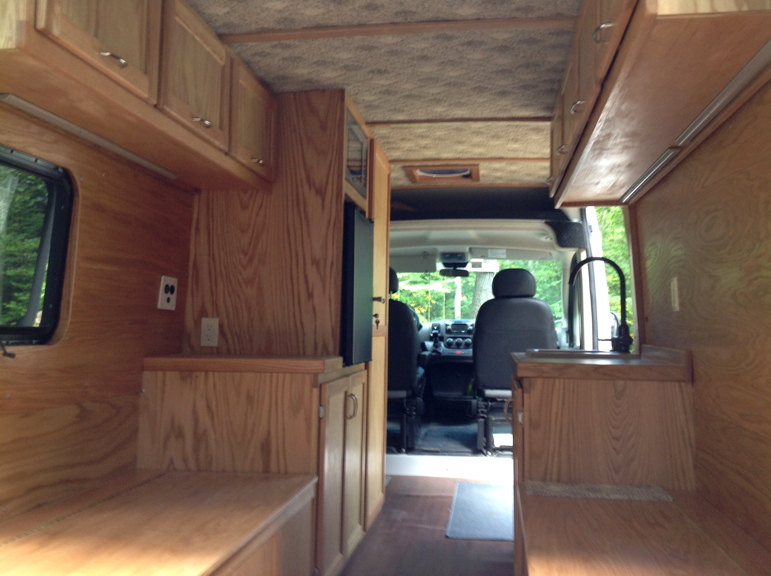 Promaster Rv Build >> DIY Van Conversions - Build A Green RV