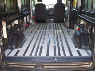 Transit van conversion - floor