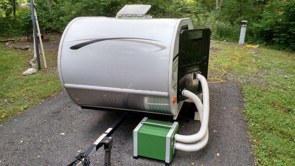 35 Mile Per Gallon Tear Drop Trailer Rig Build A Green Rv