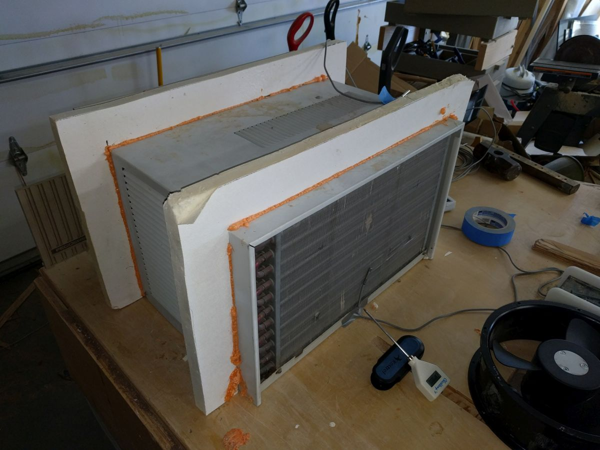 Window Air Conditioner To Cool An Rv Build A Green Rv