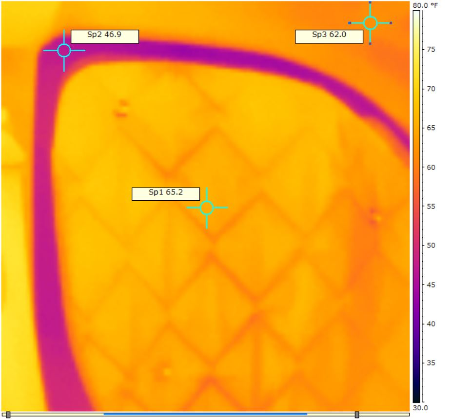 Thermal bridging of insulation due to metal frames build How to prevent heat loss