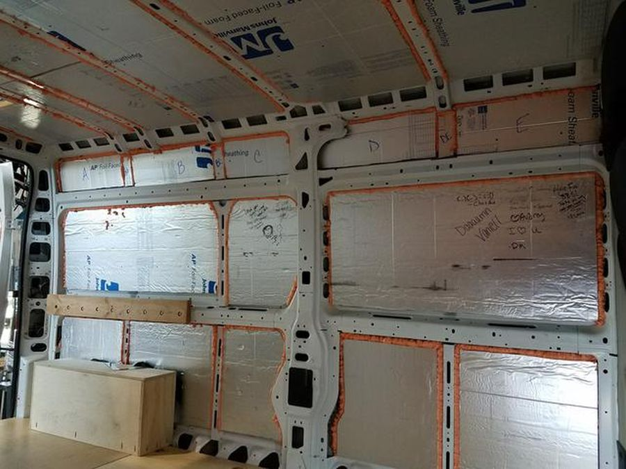 Install Insulation – Build A Green RV