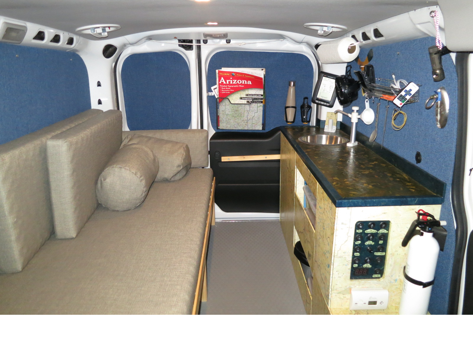 Converting ProMaster City Van To Camper